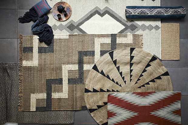 Beautiful West Elm Rugs Inspired By The MIAC Collection
